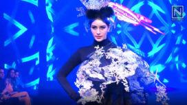 Warina Hussain Walks for Little Shilpa at Tech Fashion Tour 2019