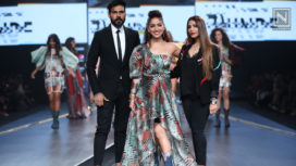 Yami Gautam Turns Perfect Muse to Falguni Shane Peacock at LMIFW SS20