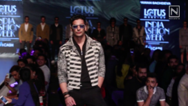 Muzamil Ibrahim Walks for Pawan Sachdeva at Lotus Makeup India Fashion Week SS2020