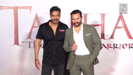 The Star Cast of Tanhaji : The Unsung Warrior Come Together at its Trailer Launch