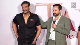 Ajay Devgn and Saif Ali Khan Get Personal on their Friendship at Tanhaji Trailer Launch