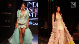 Designers and their Showstoppers - Shibani Dandekar and Rakul Preet Singh