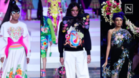 Trend Alert: Flashy Florals Light Up the Runway of LMIFW SS 20