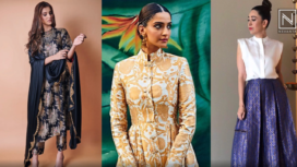 Bollywood Divas Keep their Ethnic Look on Point with Brocade Outfits