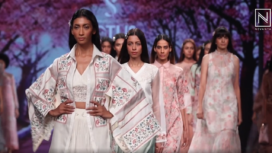 Shruti Sancheti Presents her Creation at Lotus Makeup India Fashion Week SS20