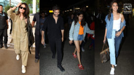 Your Favourite Bollywood Celebrities Acing their Airport Fashion Game