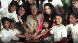 Aishwarya Rai Celebrates her Dad's Birth Anniversary on Day of Smiles