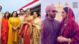 Deepika Padukone and Ranveer Singh's First Wedding Anniversary Celebrations