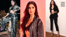Bollywood A-Listers Sporting the Pantsuit-Over-Bralette Trend with Elan