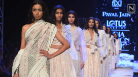 Payal Jain Presents the Crecent Moon at Lotus Makeup India Fashion Week SS20