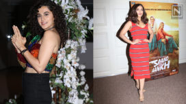 Taapsee Pannu and Bhumi Pednekar Come Together for Saand Ki Aankh Success Bash