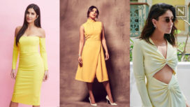 The B-Town Ladies All Decked up in Pretty Yellow Dresses