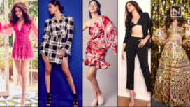 Ananya Panday and her Five Voguish Looks from Pati Patni Aur Woh Promotions