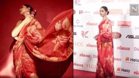 Five Style Inspirational Sari Look of Deepika Padukone