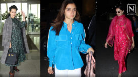 Bollywood Celebrities Making Chic Airport Entries from the Week Gone By