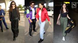 B-Town Celebrities Making Fashion Statements with their Airport Looks
