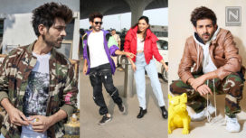 Top Five Looks of Kartik Aaryan During Pati Patni Aur Woh Promotions