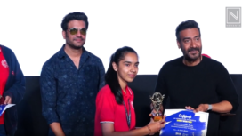 Ajay Devgan Hosts Special Screening of the Movie Tanhaji for School Kids