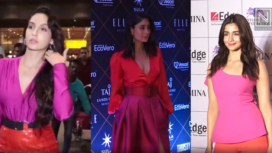 Bollywood Divas Amp up the Fashion Quotient in Block Colour Outfits