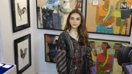 Aditi Rao Hydari Comes Forward at the India Art Festival 2020