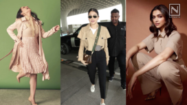 Celebs Upgrade their Minimalistic Wardrobe in Beige Ensembles
