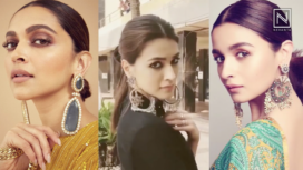 Bollywood Ladies Make Fashion Statements in Supersized Earrings