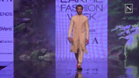 Jim Sarbh Walks the Ramp for Amaare at LFW SR 20