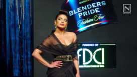 Priyanka Chopra Walks the Ramp at Blenders Pride Fashion Tour Finale