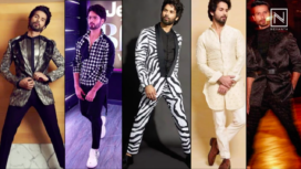 Top Five Stylish and Noteworthy Looks of Shahid Kapoor  - Birthday Special