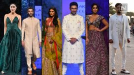 Bollywood Celebs Turn Stunning Showstoppers at Day 5 of Lakme Fashion Week SR 20