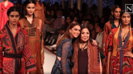 Aditi Rao Hydari Turns Muse to Ritu Kumar at Lakme Fashion Week SR 20