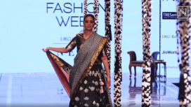 Tabu Struts Through the Runway for Gaurang Shah at Lakme Fashion Week SR 20