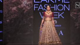 Saiee Manjrekar Turns Gorgeous Showstopper for Label Jiviva at LFW SR 20
