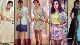 Top Five Promotional Look of Taapsee Pannu from Thappad Promotion