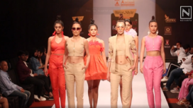 Anjani College of Fashion Technology Showcase their Collection at BFW 2020