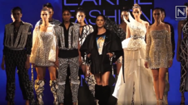 Sunny Leone Turns Muse to Swapnil Shinde at Lakme Fashion Week SR 20