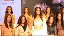 Neha Jaiswal Turns Muse to Label Span Fashion at Bombay Times Fashion Week 2020