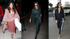 Your Favourite Bollywood Stars Jet Setting in Stylish Attires