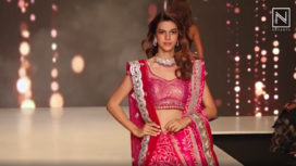 Shaina NC Presents her Vibrant Festive Wear Collection at BTFW 2020