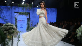Tara Sutaria Effortlessly Walks the Ramp for Sulakshana Monga at BTFW 2020