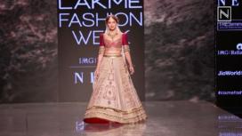 Saiee Manjrekar Turns Gorgeous Showstopper for Jiviva at LFW SR 20