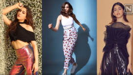 Bollywood Fashionistas Sporting Ultra-Stylish Party Wear Pants
