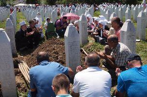 herdenking Srebrenica