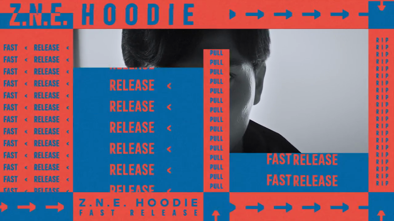adidas – Z.N.E. HOODIE FAST RELEASE