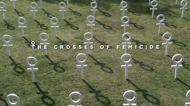 CROSSES OF FEMICIDE