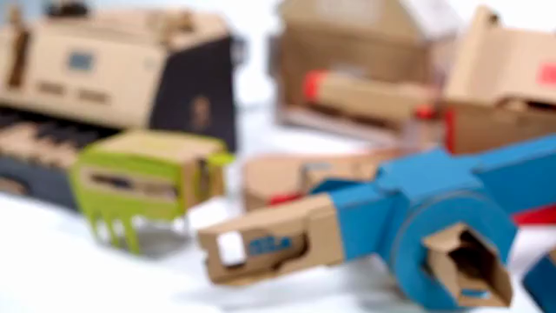 The UPS Store's Labo Toy-Con-Tainer