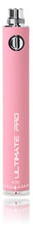 A Pink Electronic cigarette UltimatePro battery
