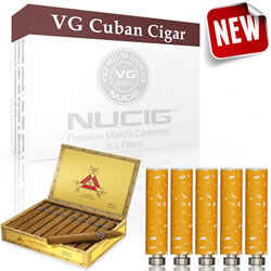 Cuban Cigar Flavour Filter Max Volume Cartomiser Pack