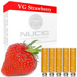 Strawberry Nicotine Max Volume Cartomiser Pack