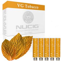 Tobacco Flavour Filter Max Volume Cartomiser Pack